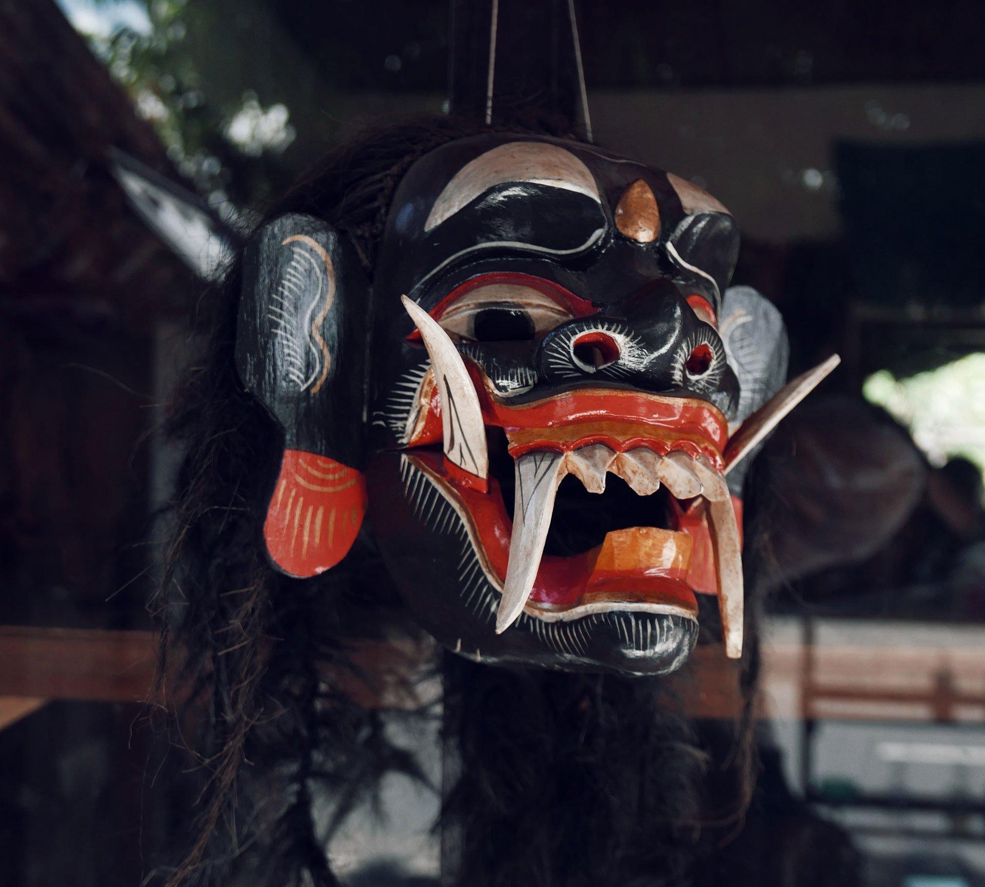 own villa bali mask