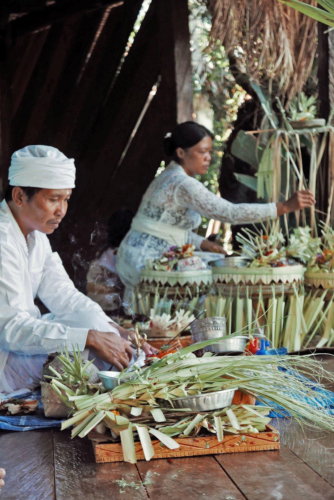 Own Villa Bali travel lifestyle luxury eco tropical living Hindu ceremony