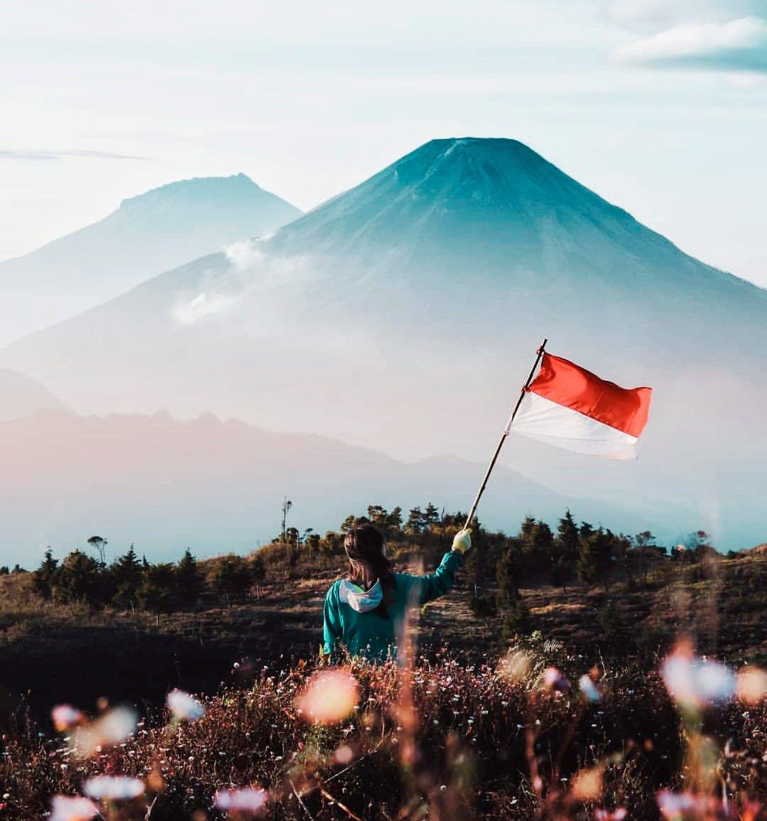 own villa Bali View from Mount Batur
